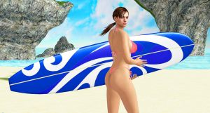 Jill Valentine    SURFS-UP by blw7920