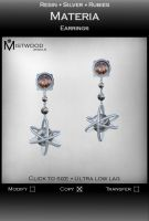 Materia - Earrings by Aedil