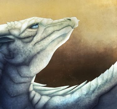 Wings of Fire: Glacier by Sesquipedalian101