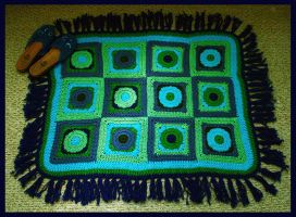 Crocheted Rug by sapphiresphinx