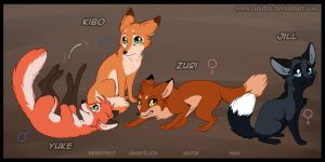 The Kits of Abby by RukiFox