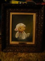 Baby Lamb Portrait by MelodicInterval