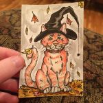Lily ACEO trade~ by AstaraBriarart