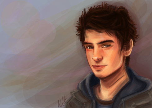peter parker by Nushanna