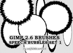 speech bubbles GIMP brushes 1 by asifalittlezonked
