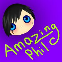 Chibi Phil by Brookiethecookieface
