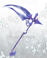 Custom Scythe by Forged-Artifacts