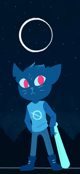 Night In The Woods by NyanaNyan