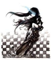 BlackRockShooter by Parororo