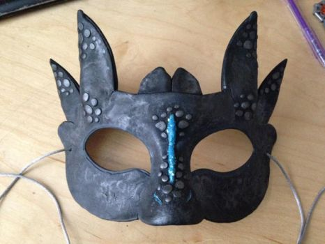 Toothless Mask by aru