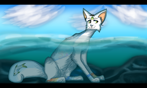 Just Wading in a Bit by LightGoesRawr