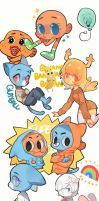 DOODLES ABOUT GUMBALL by puuuuko