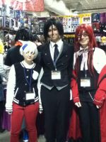 Soul, Grell, and Sebastian by jt0002