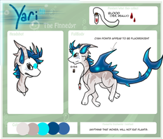 Reference :: Yari the Finnedyr by Hollowed-Chimera