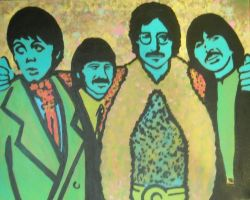 The Beatles by chrispjones