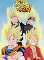 Super Saiyan Day by ELordy