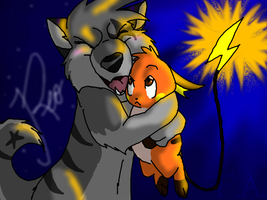 Reo and Raichu C: by GJKou