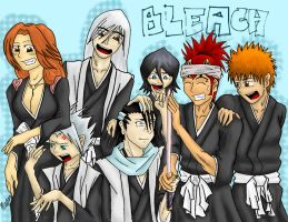 3 weeks of SBOM - Bleach Group by anifanatical