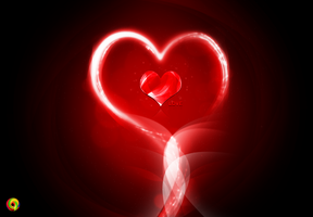 heart and love by bakerGFXislamicDSner