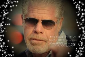 Can't Take My Eyes Off Ron Perlman by Kimi-Clark