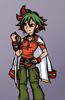 .:YGO: Goggle-headed Tomato Baby of Arc-V:. by Goddess-of-BUTTSECKS