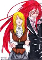 Ruth and Grell -Request- by GeeHBerserk