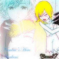 Namine and Roxas Hero awakens by Graces87