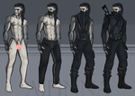 Mikael Clothing Ref by Iihenna
