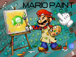 MARIO PAINT by Kirafrog