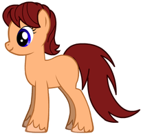Me as a female Pony by DinobotEd