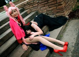 Mistress 9 and Wicked Lady by lynlunnar
