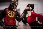Deadshot and Harley by ohRocco
