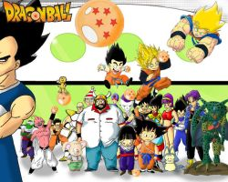 Dragon Ball_Where's Waldo? by fmgm