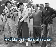Obama's new advisors by MarcusMcCloud100