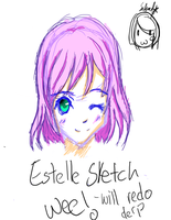 Random Estelle sketch by Sakura1106