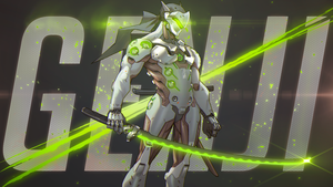 Genji | Overwatch by The-Marker