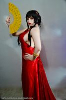 The Witch's Red Dress by Luthy-Lothlorien
