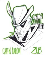 C2E2 2011- Green Arrow by Zubby