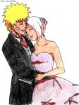 NaruSaku Wedding by dE-N0idED