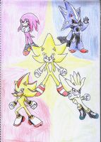 Super Sonic Rivals by YgdrasilChaosControl