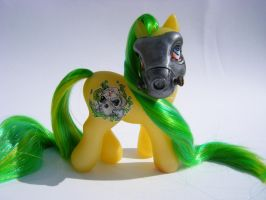 Custom My Little Pony Toxica by eponyart