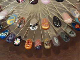 Nail Designs 2 by LovedPurpleAngelWife