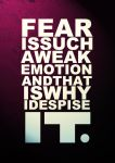 I Despise Fear by nocturnal-schism