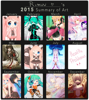 2015 Art Summary by rimuu