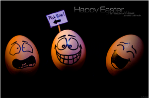 Happy Easter Eggs. by Frytkasis