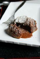Chocolate Lava Cake by sasQuat-ch