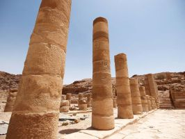 Columns at the Great Temple by alimuse