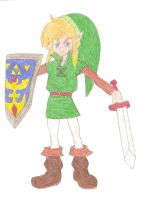 Young Link by DoctorEvil06