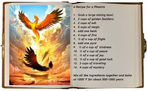 A Recipe for A Phoenix by Greensister125