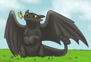 Toothless by TK421LovesYou